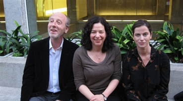 Vive La France<br />Denis Bisson, French cultural attaché, Rachel Rosen, San Francisco Film Society directo...
