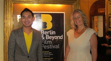 Berlin is Back<br />Sophoan Sorn, festival director, and Sabine Erlenwein, festival president, presided at ...